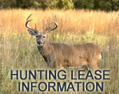 Alabama Hunting Lease Information